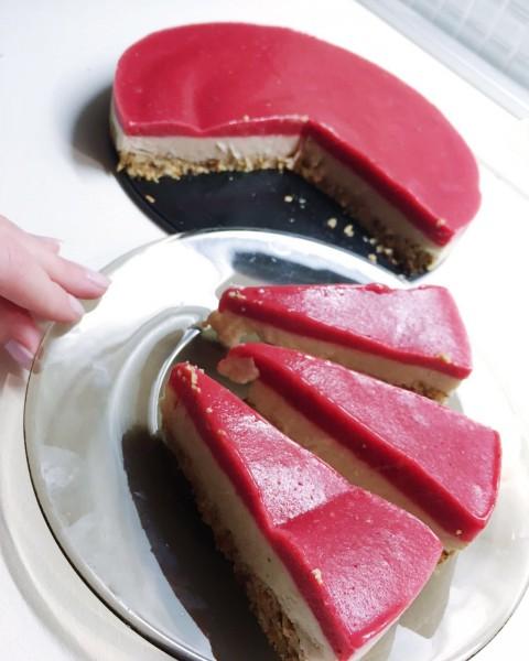 Nový recept Raw vegan zmrzlinová torta s Chia power ®