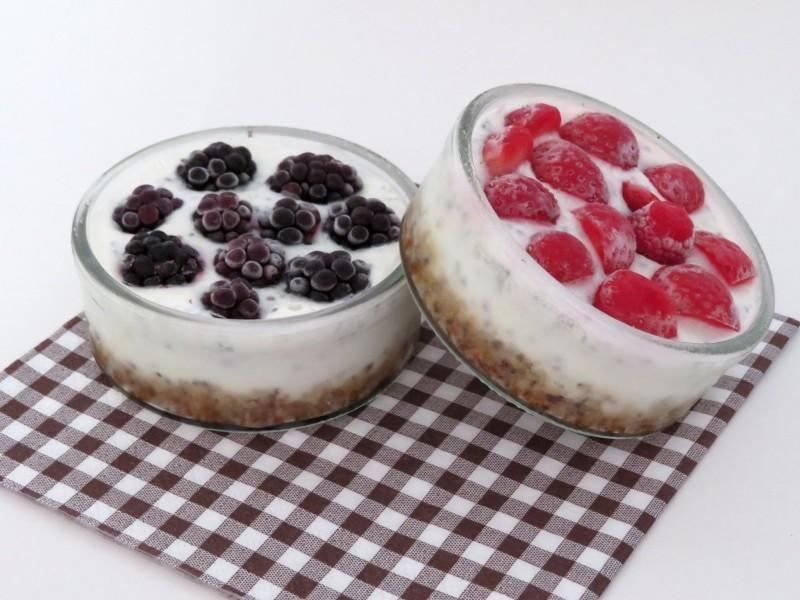 Ovocno jogurtové koláčiky