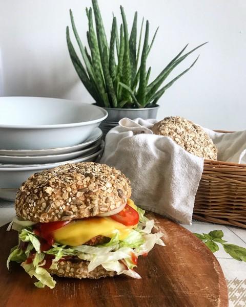 Vegánsky burger