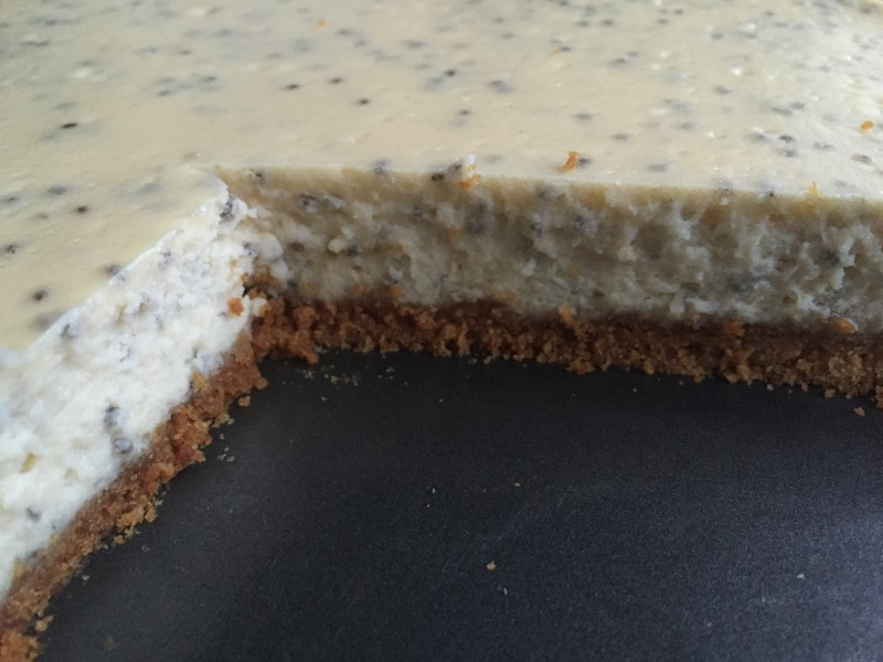 Chia cheesecake