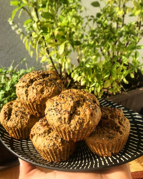 """Superfood"" chia muffiny"