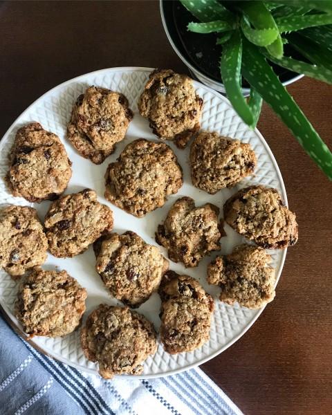 Špaldové sušienky (cookies)