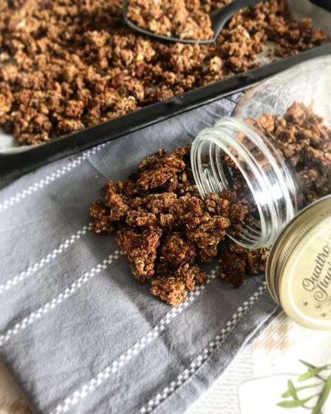 Pohánkovo-ovsené müsli (granola)