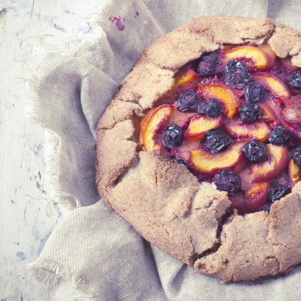 Ovocný koláč z chia semínky - Recepty