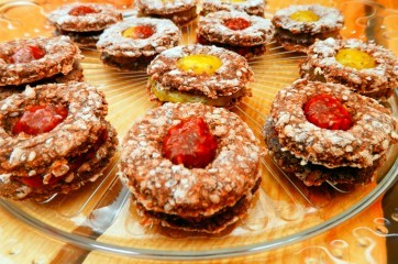 RAW linecké koláče s chia- Recepty