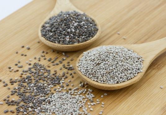 Chia semienka, účinky, použitie