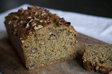 Cuketový zdravý chléb s chia - Recepty
