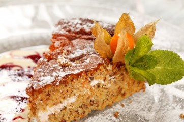 Mrkvový slavnostní dort - Recepty