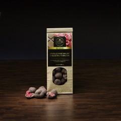Mrazom sušené malinyv mliečnej čokoláde50g