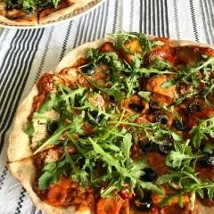 Rýchla vegánska pizza