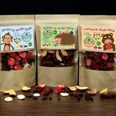 Mrazom sušený detský mix ovocia 3 x 20g